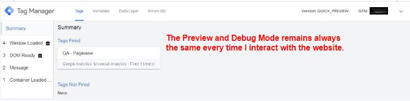 preview and debug in single page application