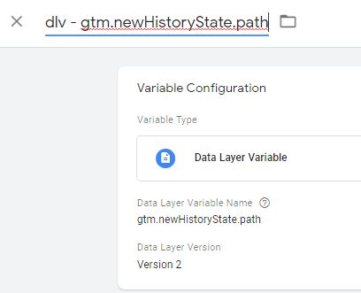 gtm newHistoryState path