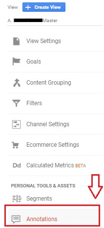 annotations in google analytics