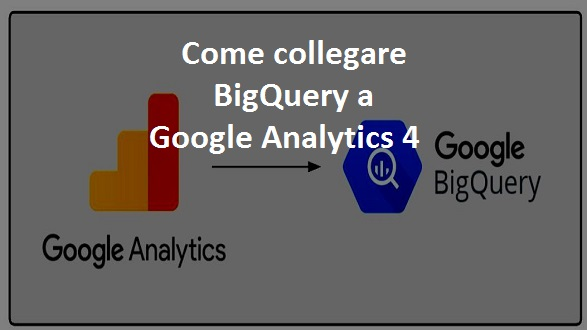 collegare bigquery a google analytics 4