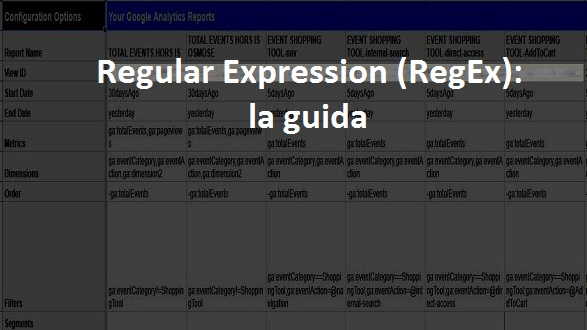 regular expression analytics
