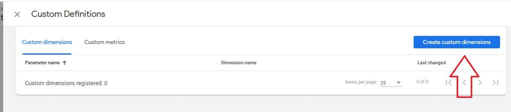 create custom dimension google analytics 4