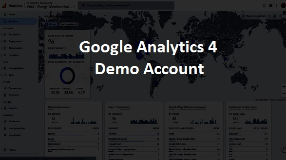 demo account google analytics 4