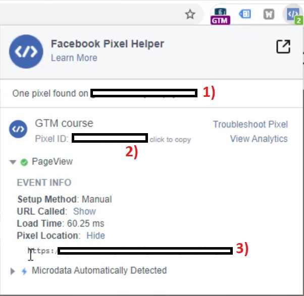 facebook pixel helper plugin