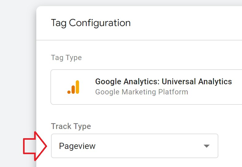 hit pageview google tag manager