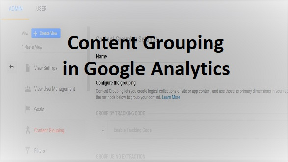 content groupings in google analytics